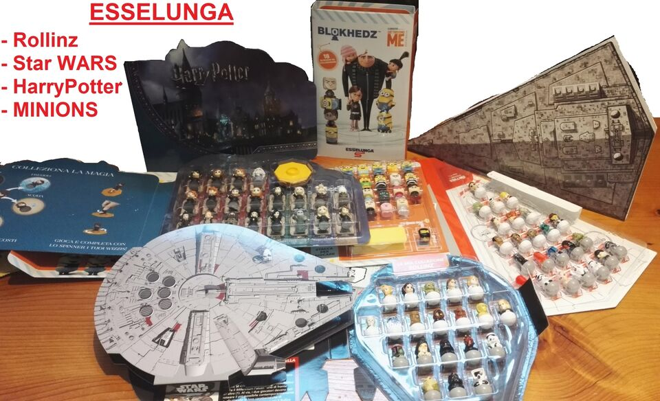 Esselunga rollinz star wars