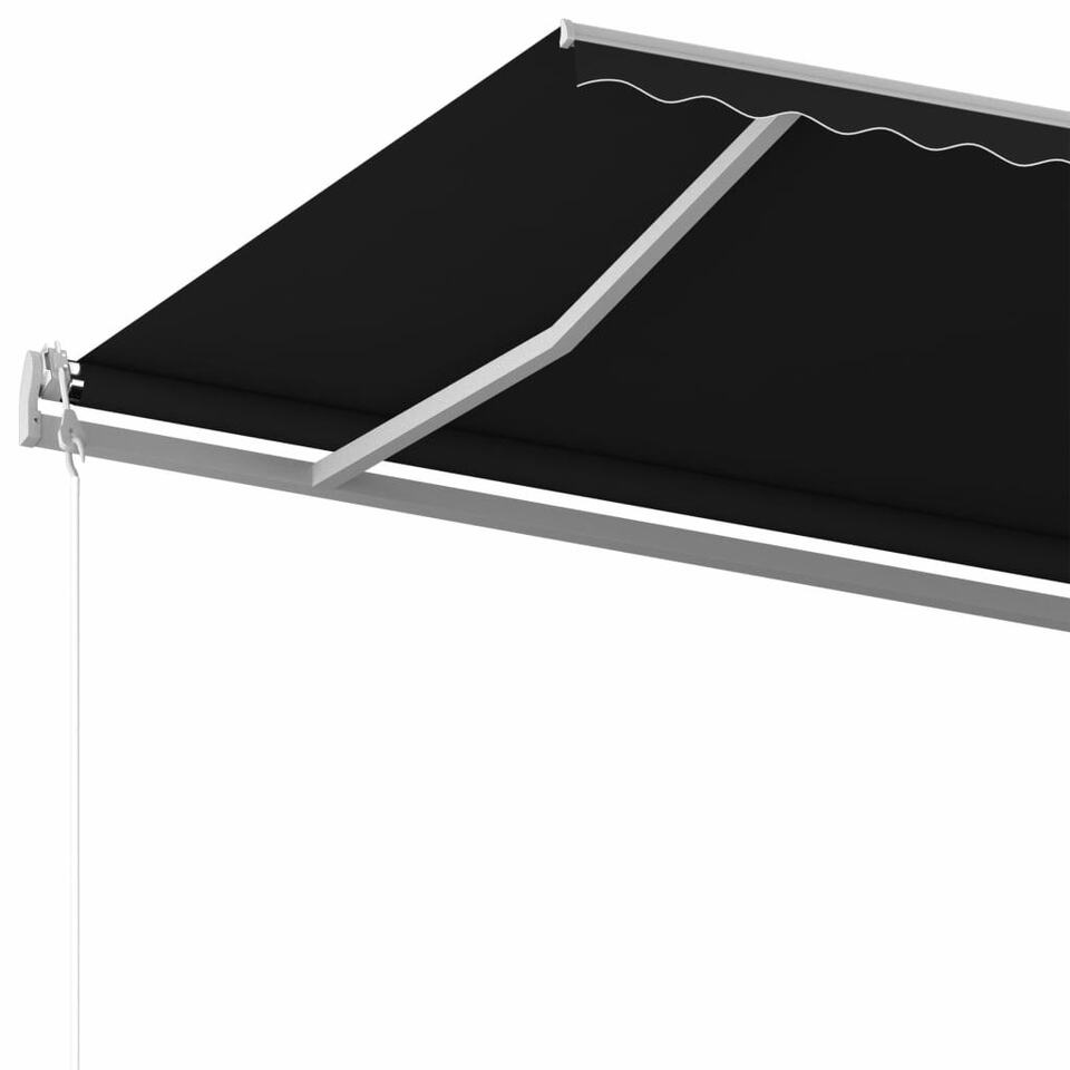 Tenda da Sole Retrattile Manuale 500x350 cm Antracite 5