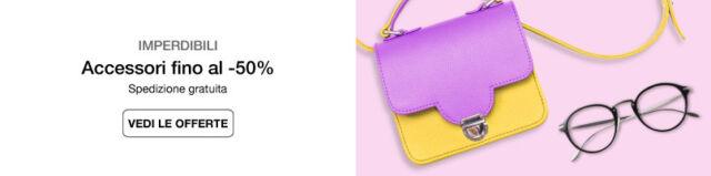 Accessori moda fino al -50%