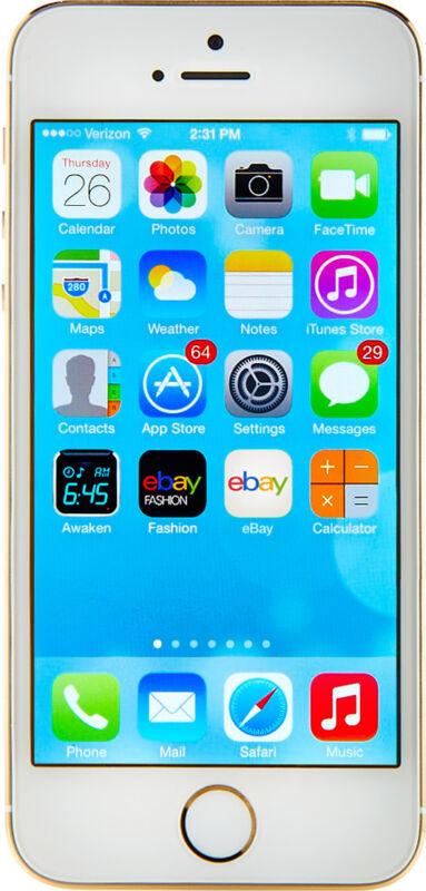 Apple  iPhone 5s - 16 GB - Gold - Smartphone
