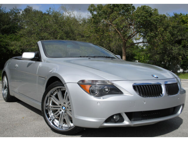 2006 bmw 650i convertible v8 20 rims navi. Black Bedroom Furniture Sets. Home Design Ideas