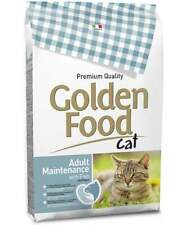 Golden Food Cat Adult Maintenance con pesce secco 12,5 kg 1 sacco x 12