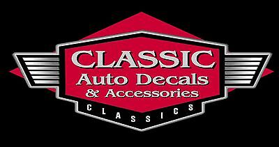 Classic Auto Decals and Accessories