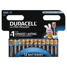 Duracell 12 Pz Batterie Alcaline AAA Ultra Power