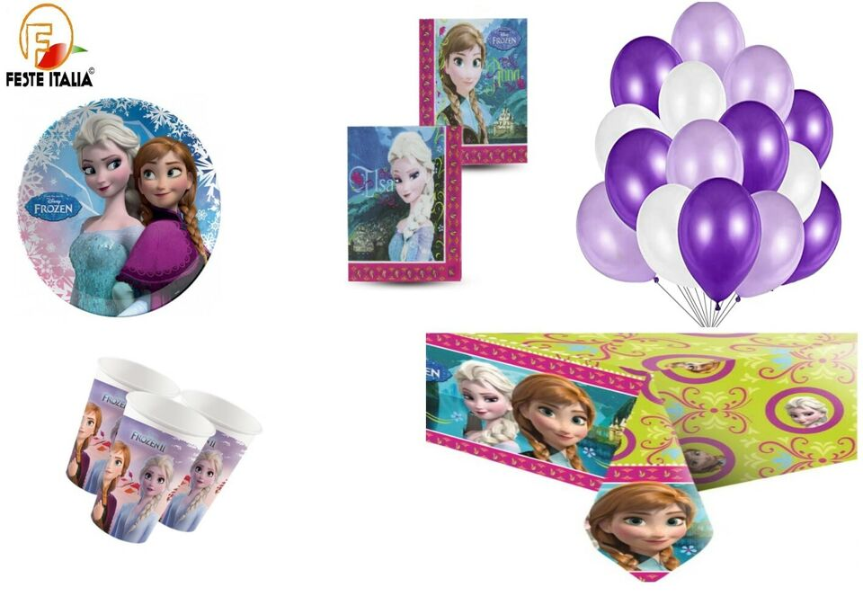 Frozen 2 kit compleanno party festa elsa anna disney