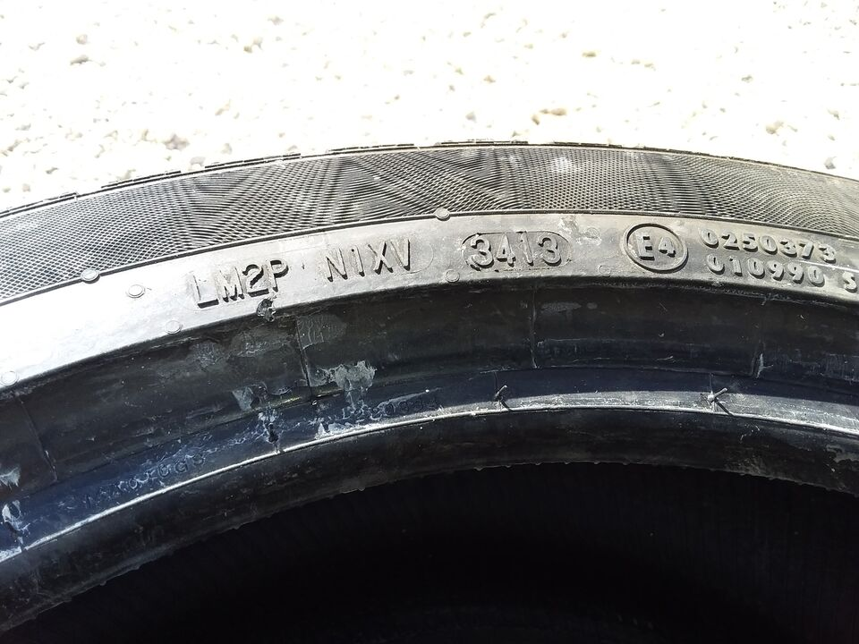 2 gomme usate 245/40 R18 97V CONTINENTAL 2