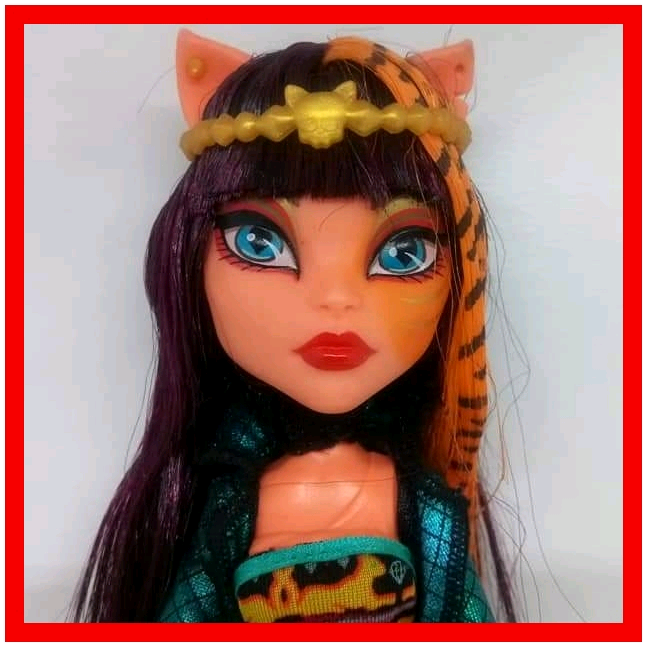 Bambola Monster High Cleolei Cleo Toralei Freaky Fusion Mattel Barbie