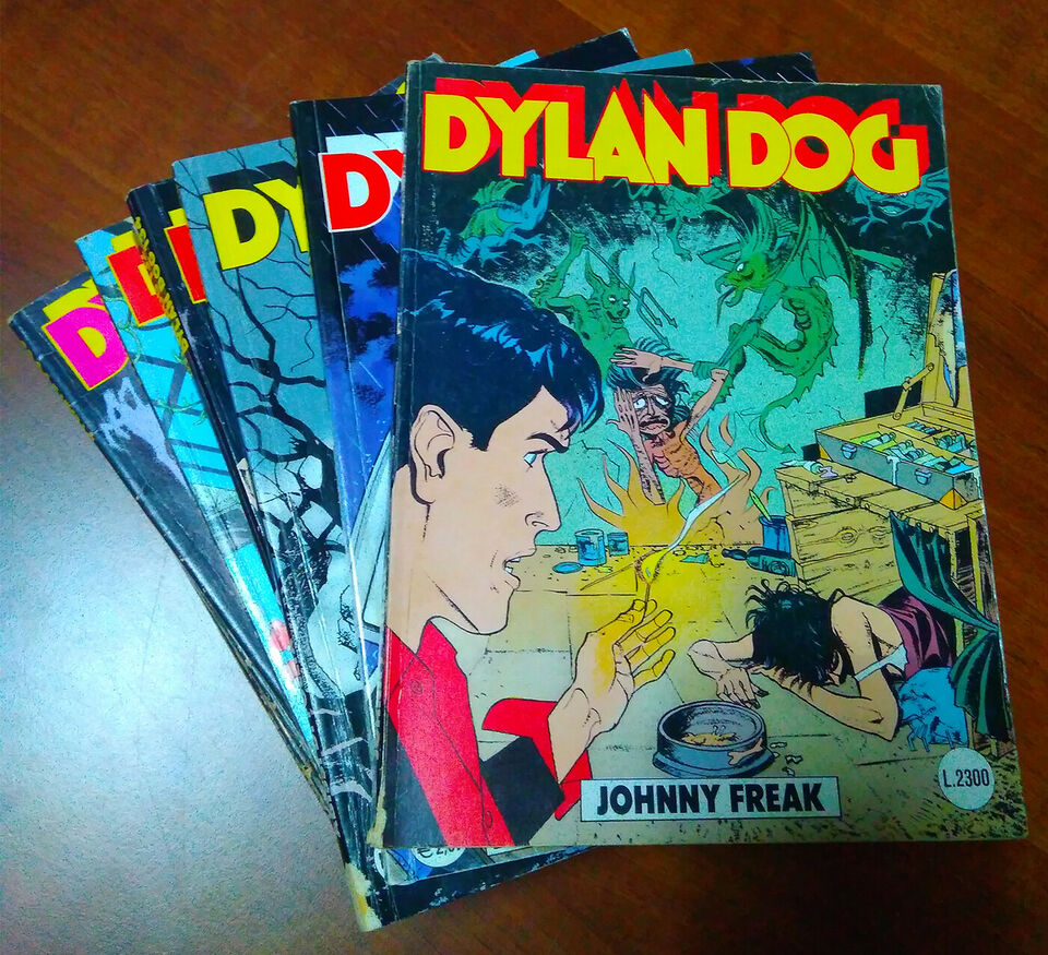 Lotto albi dylan dog originali