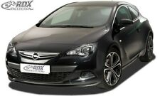RDX Front Spoiler OPEL Astra J GTC for OPC-Line Front!