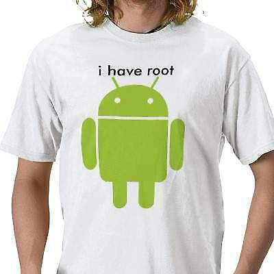 T-shirt android mangia mela-apple- samsung lg motorola htc tablet sony 6