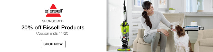 20% off Bissell Products