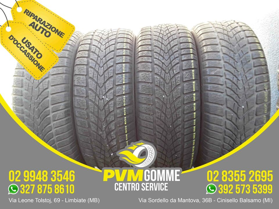 Gomme usate 225 55 18 102h dunlop inv au