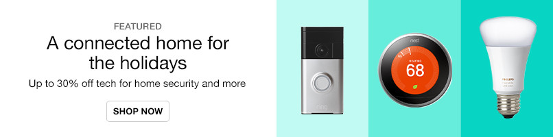 Up to 30% off Tech for Home Security