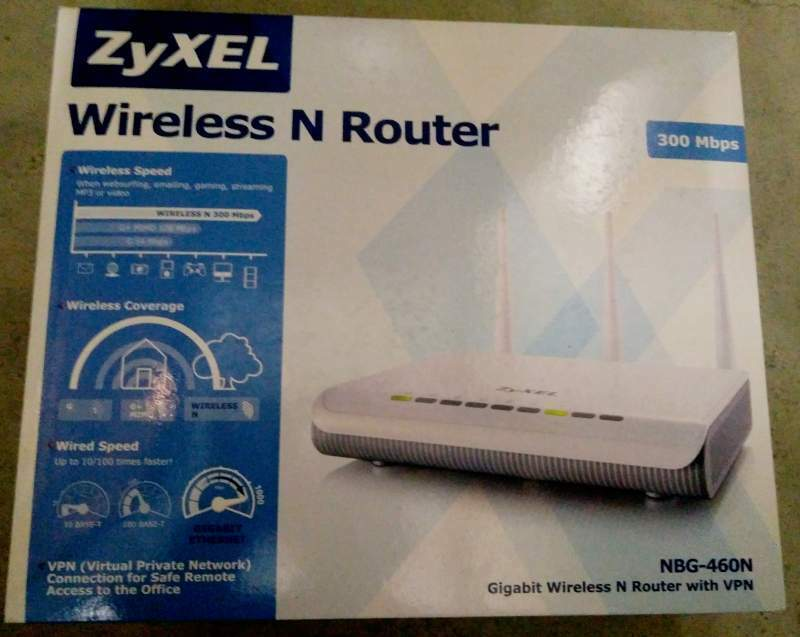 Modem wireless Zyxel