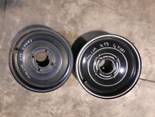 """N.2 cerchi in ferro Microcar Italcar 13"""" 4 fori"""