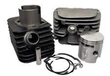 Kit cilindro pistone testa Piaggio Ciao 5 travasi mm.43 56060