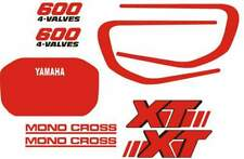 YAMAHA XT600 decal stickers adesivi XT 600 2kf