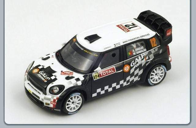 Spark model s3351 mini john cooper works n.12 10th monte carlo 2012 ar