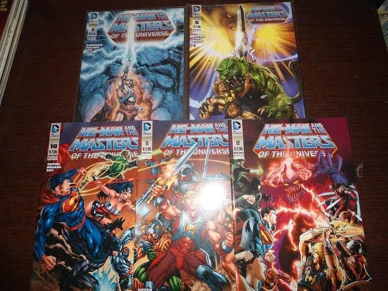 Fumetti he-man and the masters of the universe