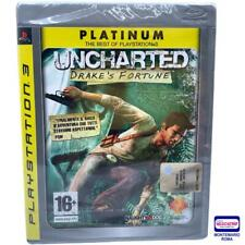 Uncharted drake's fortune ps3 platinum
