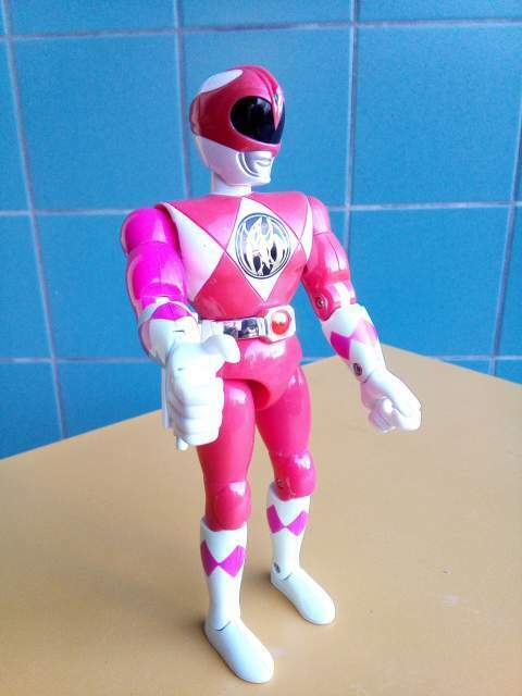 Power Ranger Mighty Morphin Pink Bandai