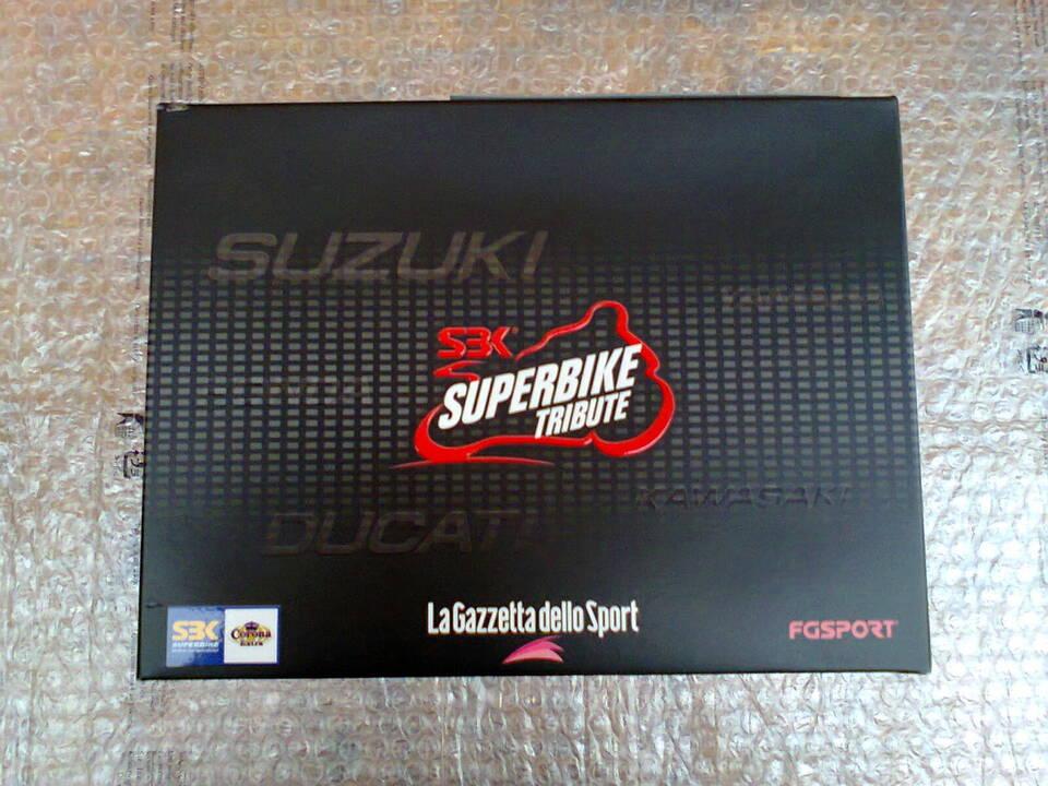 """Collezione originale in dvd """"superbike tribute"""" 3"""