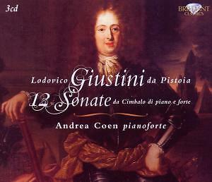Coen,Andrea - Giustini: 12 Sonatas For Pianoforte *3 CD*NEU*(edel)