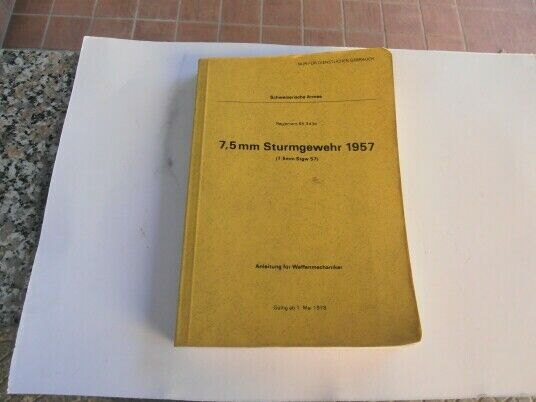 Swiss army - stg.57 instruction manual