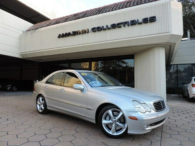 2004 silver mercedes benz c class sport sdn luxury for Mercedes benz c class 2004 price