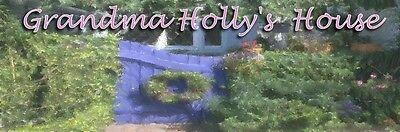 "4/"" long Dollhouse Miniature Merry Christmas Banner H106"