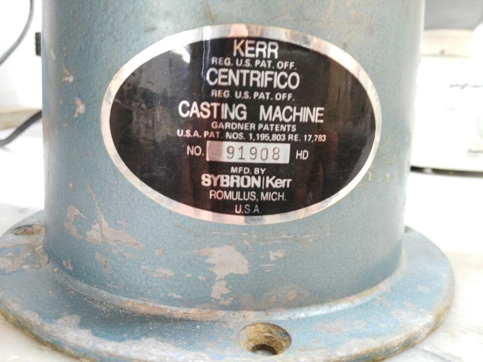 Centrifuga Kerr per laboratori odontotecnici orafi 3