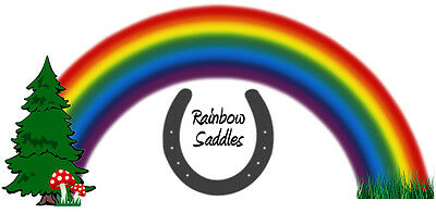 rainbow saddles