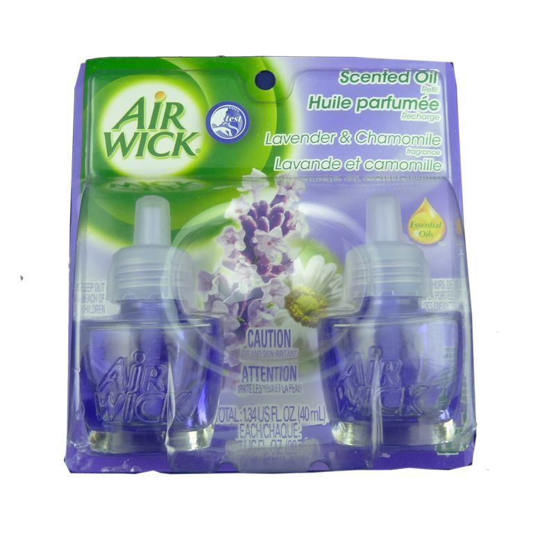 for a calming scent throughout the house buyers can choose the air wick lavender and chamomile scented oil air freshener the fragrance permeates all