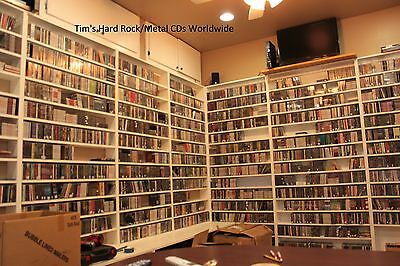 Tim's hard rock/metal CDS worldwide