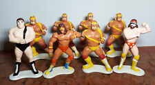 Hulk Hogan - Macho Man - Andre The Giant - Ultimate Warrior -WWF