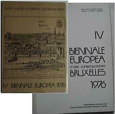 Catalogo Biennale Europea d'Arte Contemporanea 1976