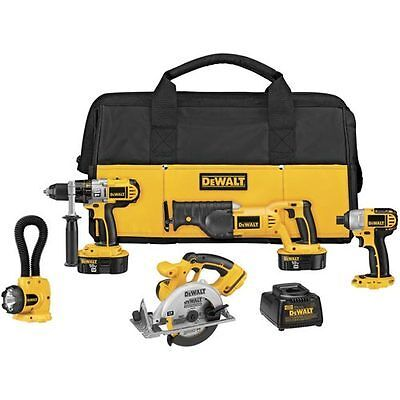 Dewalt Three-piece 18V Cordless Combination Tool Set