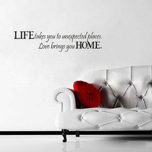Love Quotes Vinyl Wall Art : Top wall stickers with quotes
