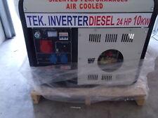 Gruppo elettrogeno nuovo inverter 10 kw diesel