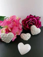 Bomboniera cuore in gesso ceramico profumato