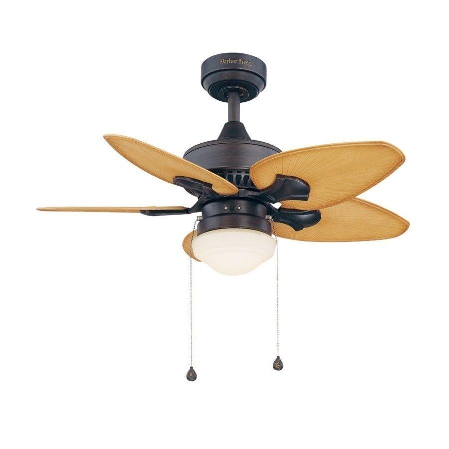 """Harbor Breeze Southlake Aged Bronze 36"""" Ceiling Fan"""