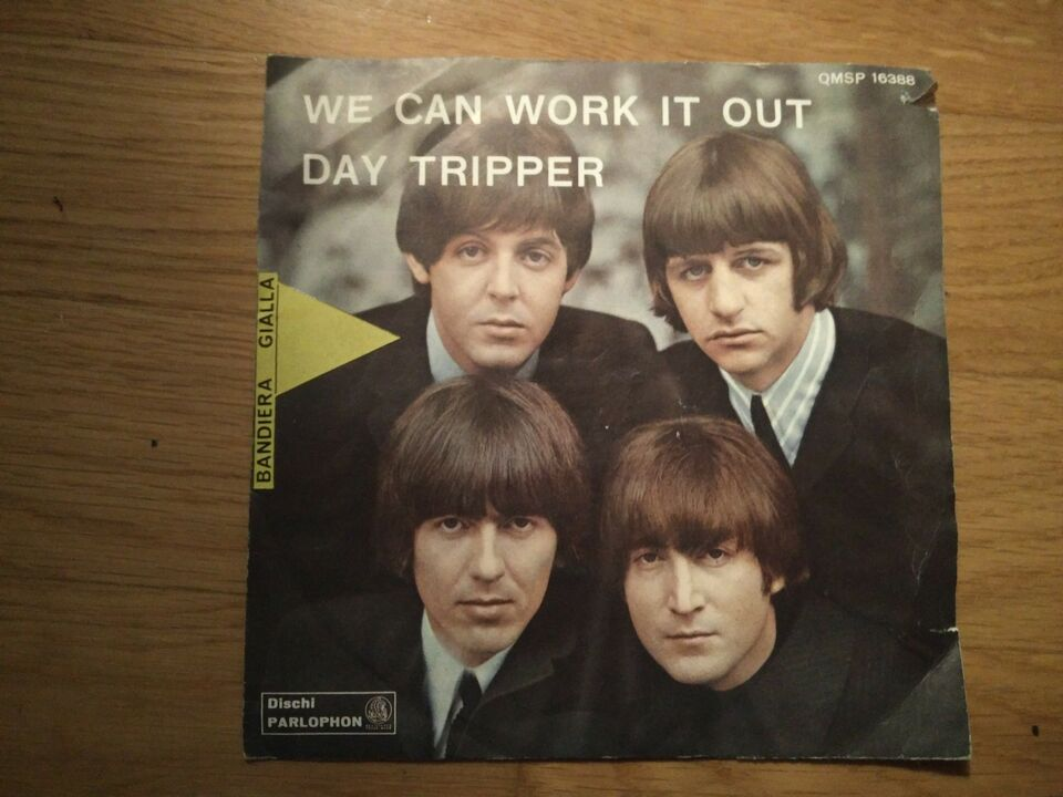 Vinile the beatles we can work it out day tripper
