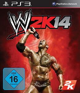 WWE 2K14 (Sony PlayStation 3, 2013, DVD-Box)