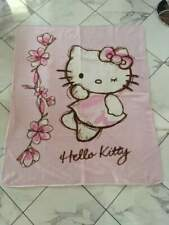 Plaid coperta in pile hello kitty 150x125