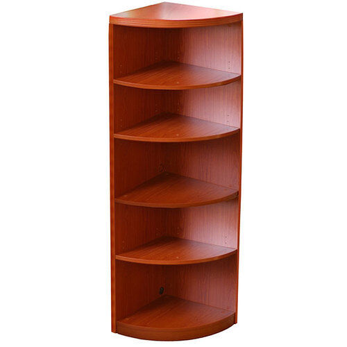 When One Is Looking For A Practical Addition To Their Home Office, The  Five Shelf Quarter Round Bookcase From Mayline Could Be Just What They Need.