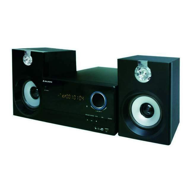Majestic AH2347 BT stereo lettore CD MP3 con bluetooth radio FM ingres
