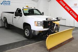 Used 08 Chevy Regular Cab 4x4 V8 8 Foot Fisher Snow Plow