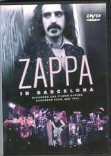 Frank zappa in barcelona 1988 live dvd sealed