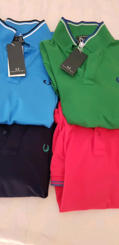 N 4 polo marca Fred Perry Tg M nuove 3