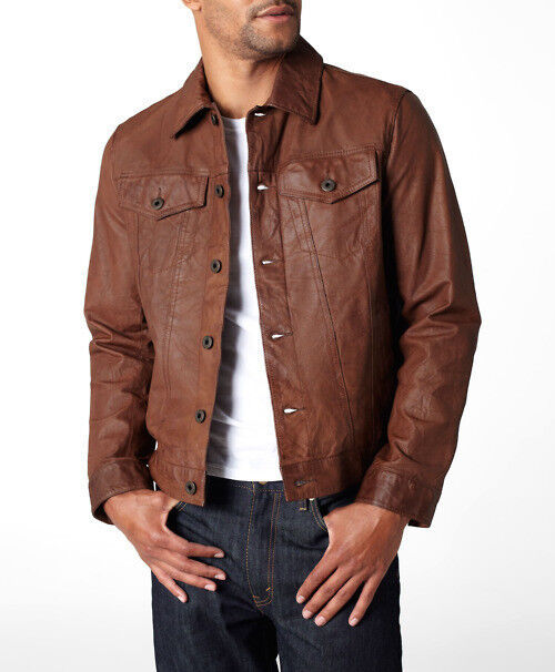Levi's Classic Leather Trucker Jacket